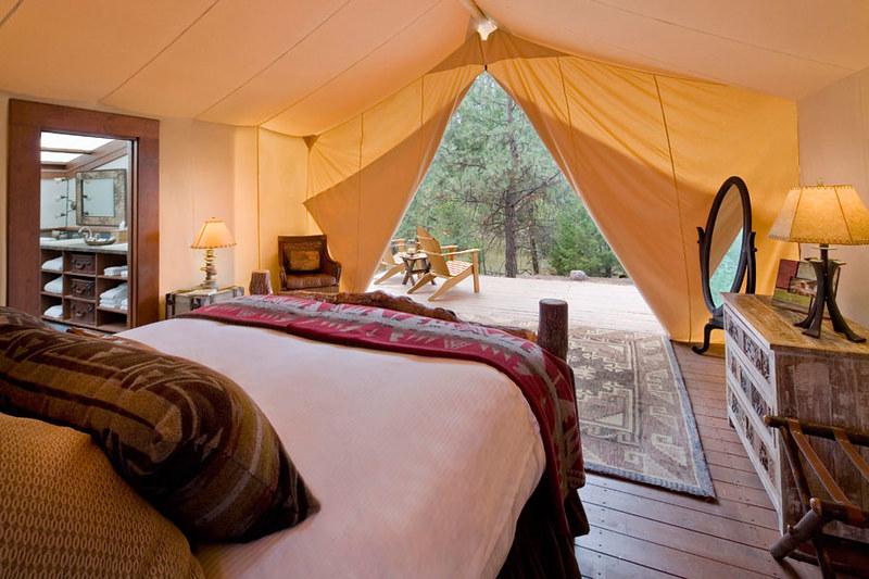 Camping trend 2. Luxe en comfort
