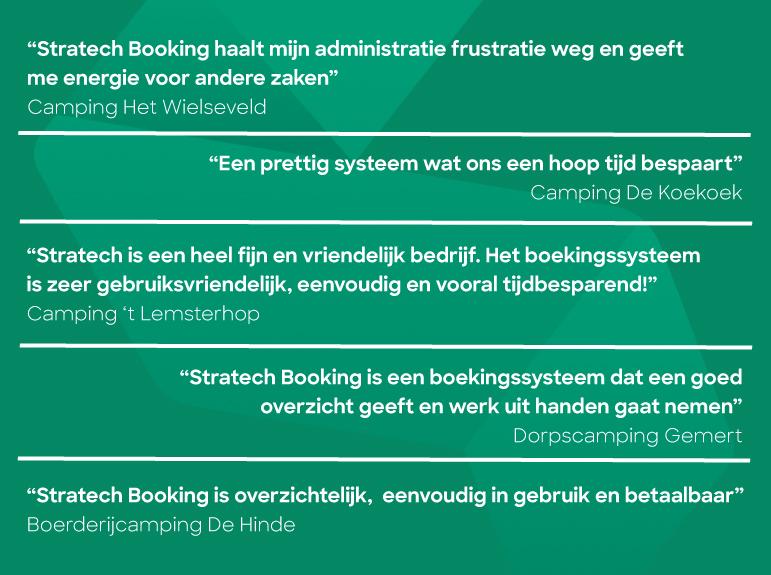 Quotes Booking gebruikers