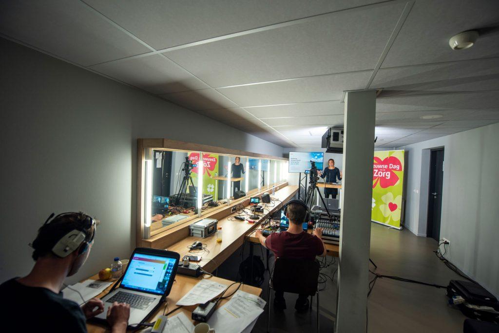 Livestream in stadsschouwburg Middelburg